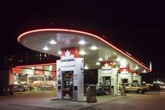 Petro加拿大加油站在多伦多 图库摄影