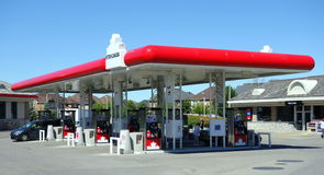 Petro Canada Gast Station Royalty Free Stock Images