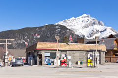 Petro-Canada post, Banff ab stock fotografie