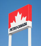 Petro Canada Sign Stock Image