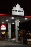 Petro-Canada Store in Toronto Stock Photography