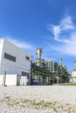 Petro and chemical plant Royalty Free Stock Photos