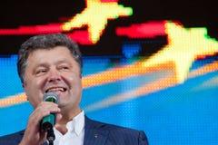 Petro Poroshenko Royaltyfri Bild