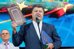 Petro Poroshenko Royaltyfri Fotografi
