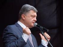 Petro Poroshenko Foto de Stock