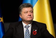 Petro Poroshenko Imagens de Stock