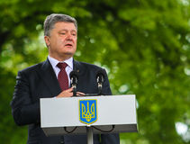 Petro Poroshenko 免版税库存照片