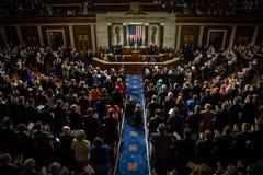 Petro Poroshenko alla sessione unita degli Stati Uniti Congr Fotografia Stock