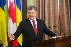 Petro Poroshenko Royalty Free Stock Images