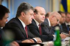 Petro Poroshenko Stock Photography