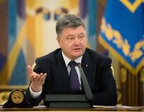 Petro Poroshenko Stock Image
