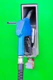 Petro pump nozzles at service station Stock Photography
