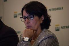 Petrobras在2015年宣布记录损失 图库摄影