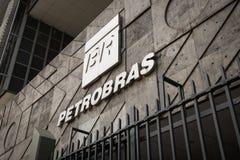 Petrobras Company Logo Royalty Free Stock Photo