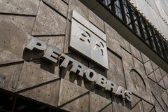 Petrobras Company Logo Royalty Free Stock Image