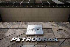 Petrobras Firma logo Zdjęcia Stock