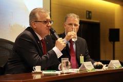 Petrobras meddelar den nya makt och ledningsmodellen Royaltyfria Foton