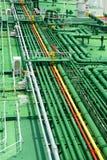 petrochemical пускает stockphoto по трубам стоковые изображения