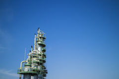 Petrochemical Column Royalty Free Stock Photography