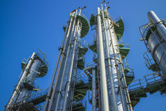 Petrochemical Column Royalty Free Stock Image