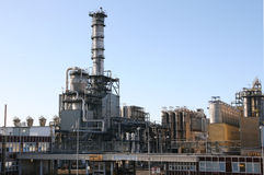 Petrochemical factory construction Stock Photos