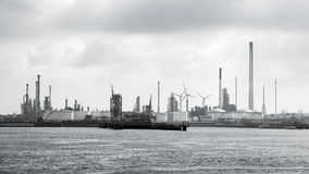 Petrochemical industrial complex Stock Photography