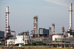 Petrochemical industrial plant in Bangkok Royalty Free Stock Photo
