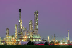 Petrochemical industrial plant power station Royalty Free Stock Photo