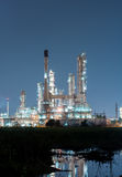 Petrochemical industrial plant power station royalty free stock image