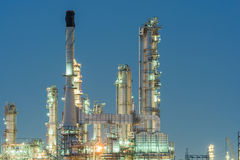 Petrochemical industrial plant power station royalty free stock photos