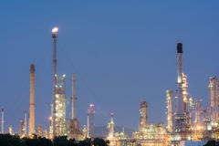 Petrochemical industrial plant power station Stock Photo