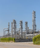 Petrochemical industrial plant Stock Photography