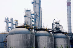 Petrochemical industry Royalty Free Stock Image