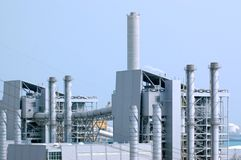 Petrochemical industry. Industrial Estate in Thailand royalty free stock photos