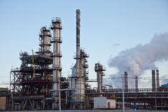 Petrochemical industry Stock Photography