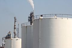 Petrochemical industry Royalty Free Stock Images