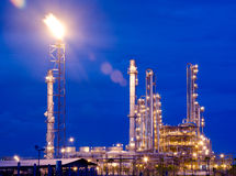 Petrochemical industry Royalty Free Stock Photo