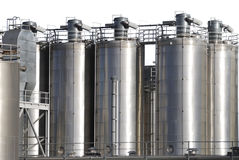 Petrochemical Industry Royalty Free Stock Photography