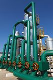 Petrochemical industry Royalty Free Stock Photos