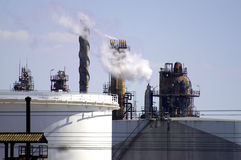 Petrochemical industry in Marseille Royalty Free Stock Photography