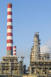 Petrochemical installations Royalty Free Stock Photography