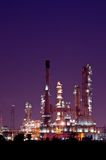 Petrochemical oil refinery plant Royalty Free Stock Photo
