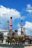 Petrochemical oil refinery, Puente Mayorga. Stock Images