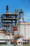 Petrochemical oil refinery, Puente Mayorga. Stock Image
