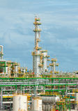 Refinery petrochemical plant Stock Photography