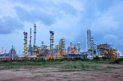 Petrochemical plant. The Petrochemical plant in MapTaphut, Rayong, Thailand Royalty Free Stock Images