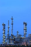 Petrochemical Plant. In sunset time Stock Photo