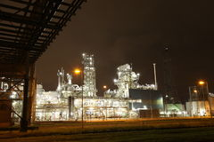 Petrochemical Plant. In Rotterdam, Holland Stock Photos