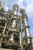 Petrochemical plant. Structure of petrochemical plant with blue sky - Maptaphut industrial , Eastern of Thailand , September 2012 Stock Images