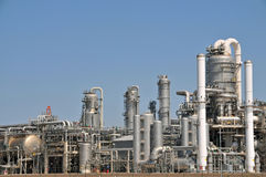 Petrochemical plant 3 Royalty Free Stock Photography
